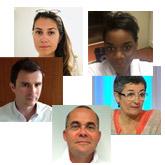 Marine Joste, Krystel Nyangoh, Aline Rousselin, Vincent Lavoué, Jean Levêque
