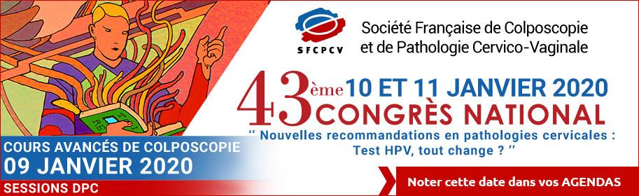 Congrès SFCPCV 2020